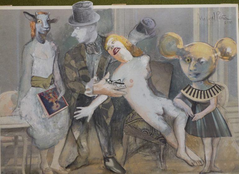 Collage de Miguel Peña