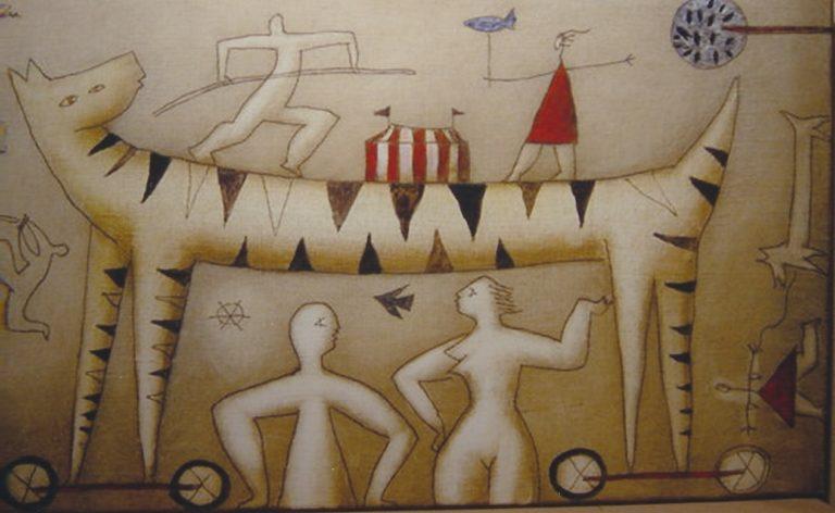 Pintura de Víctor Pedra