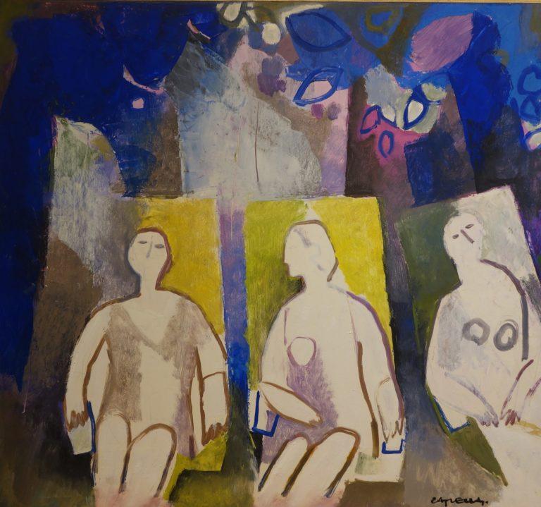 óleo sobre tabla del pintor Joan Capella
