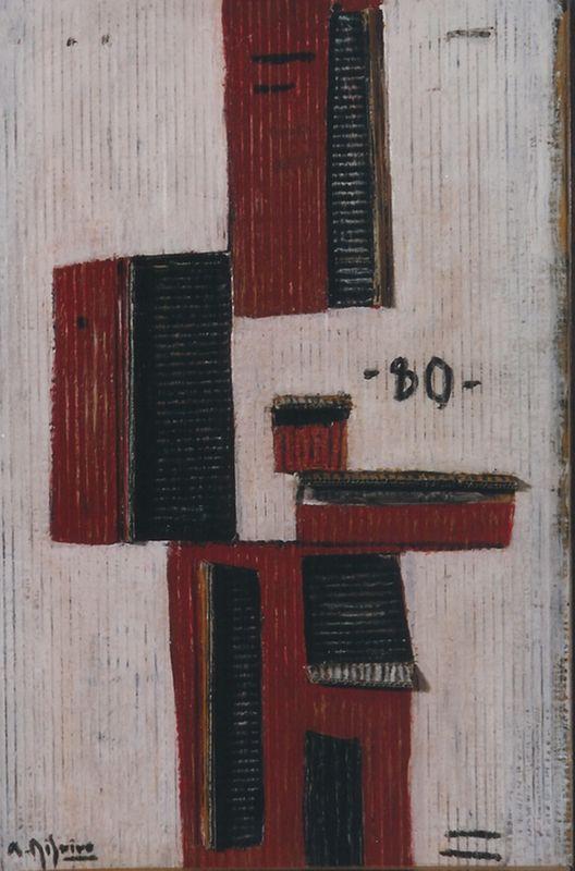 Obra de la primera exposición de Alceu Ribeiro en nuestra galería