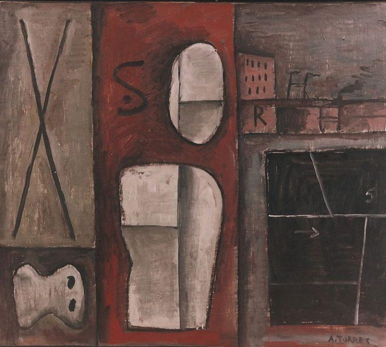 Obra de nuestra exposición homenaje a Augusto Torres