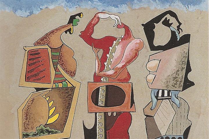 óleo sobre tela de Eugenio Granell