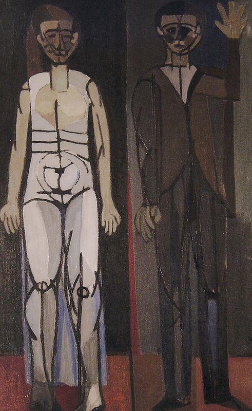 Exposición que incluye pinturas de Garcia-Llort de diferentes periodos de su carrera
