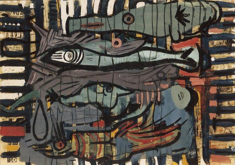 Obra de la exposición J. Fin en 1996
