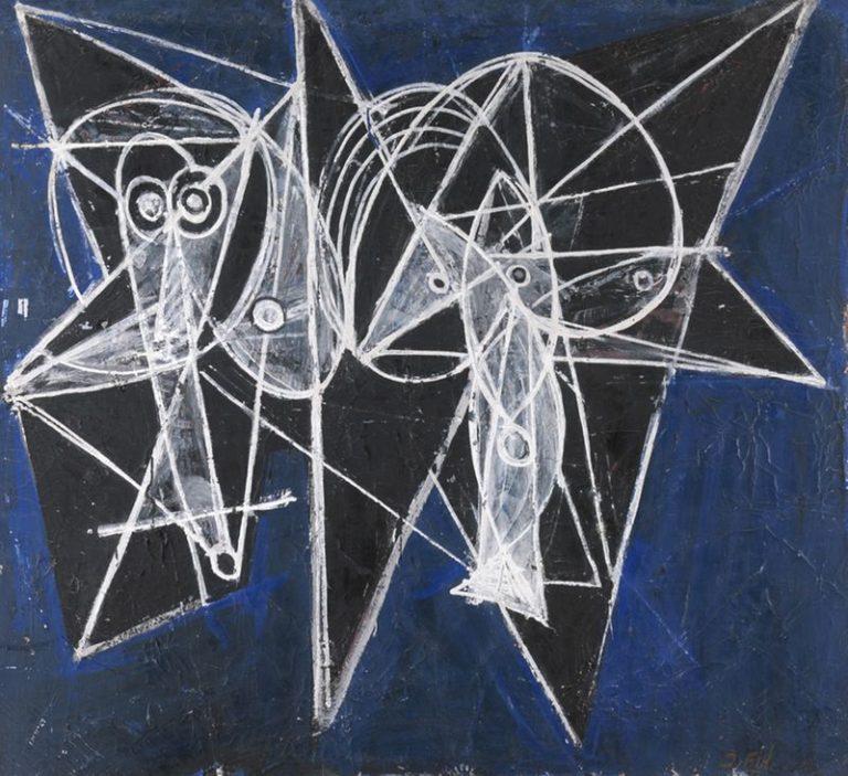 Obra de José Vilató Ruiz (J.Fín) realizada hacia 1948