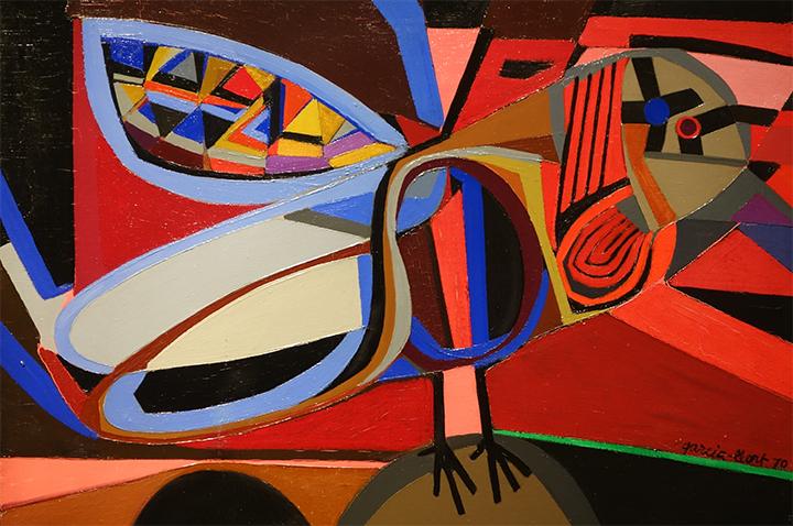 óleo sobre tela de Josep Maria Garcia-Llort