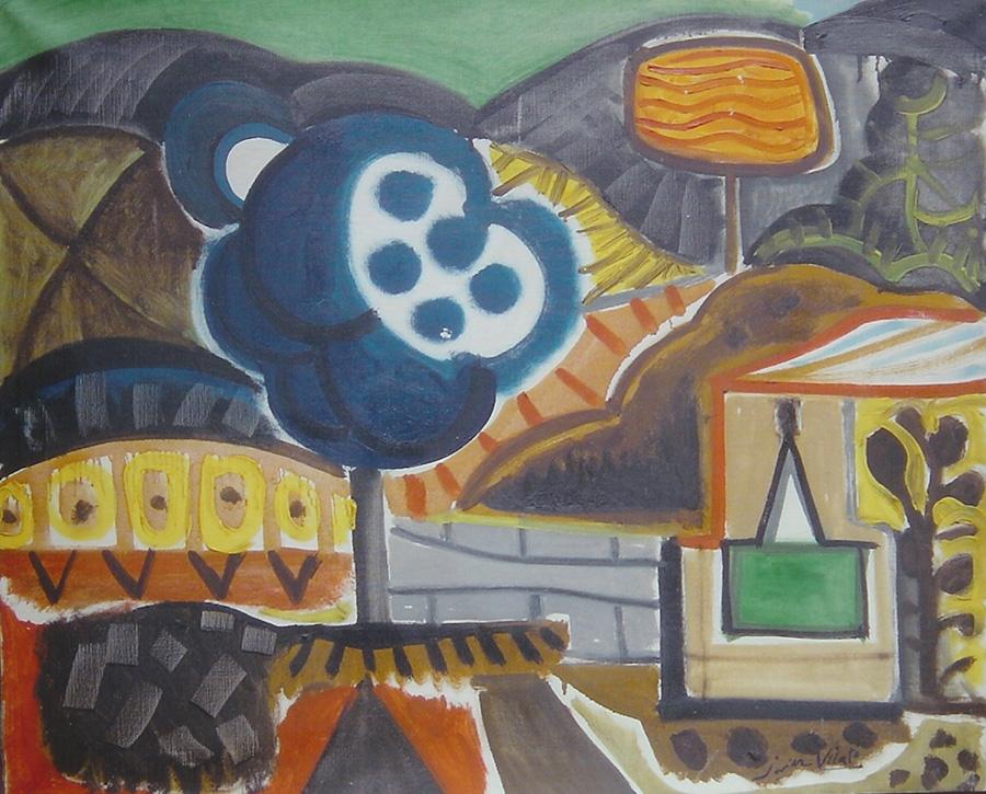 Obra de la exposición de Javier Vilató en la Sala Dalmau de Barcelona