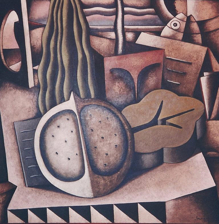 Obra de la primera individual de Jordi Amagat en nuestra galería de arte
