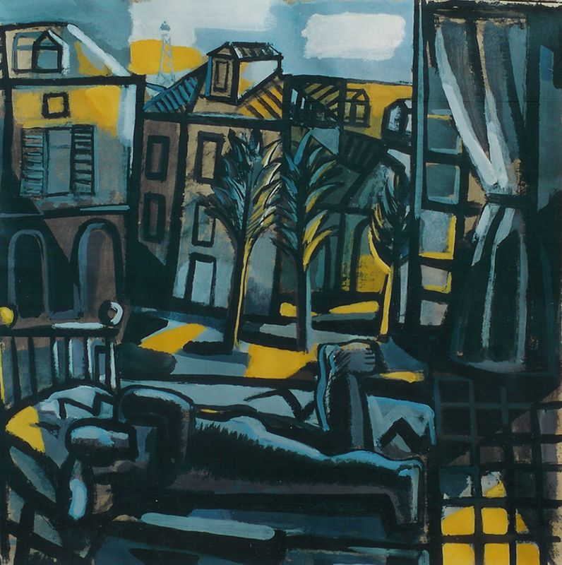 ESta exposición es un recorrido por la vida de Jorge Gay, pintor aragonés de nuestra galería