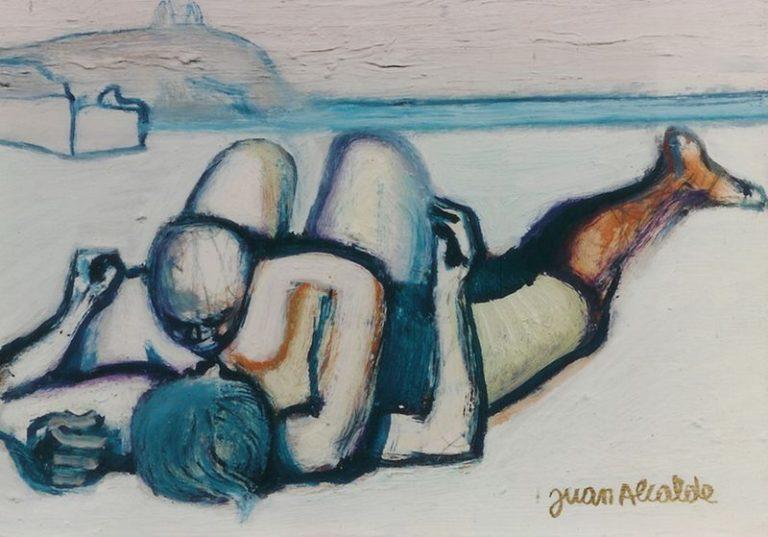 una de las últimas obras de Juan Alcalde que forma parte de nuestra exposición