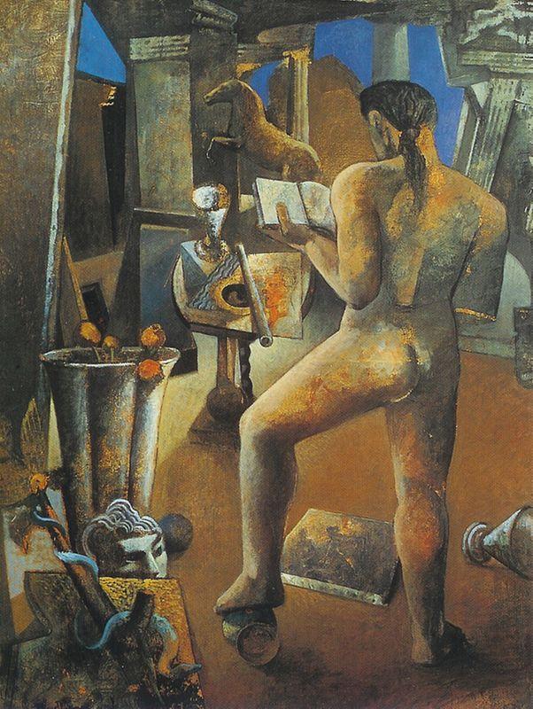 Obra de la exposición de Miguel Peña en la galería de arte de Barcelona Sala Dalmau