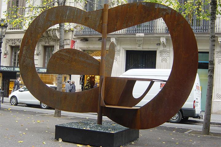 Escultura de Pablo Bruera