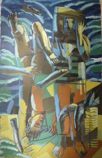 Obra reproducida en el articulo de Jorge Gay en el magazine de la vanguardia