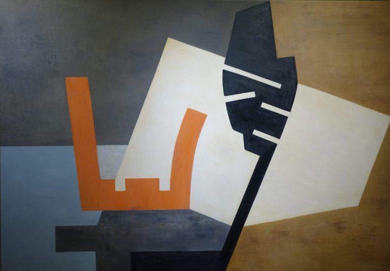 Pintura de Jose Luis Aguilo en la galería de arte de Barcelona Sala Dalmau