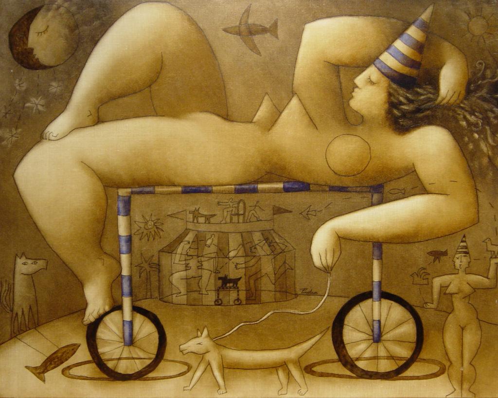 Obra de Víctor Pedra en nuestra galería