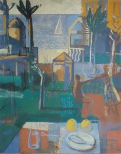 Jorge Gay y la Sala Dalmau, pintura de su primera exposición en la galería de Batcelona Sala Dalmau