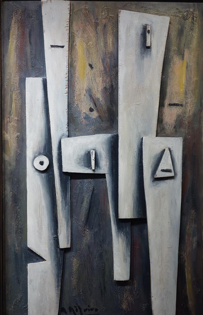 Alceu Ribeiro en la galería de arte de Barcelona Sala Dalmau.
