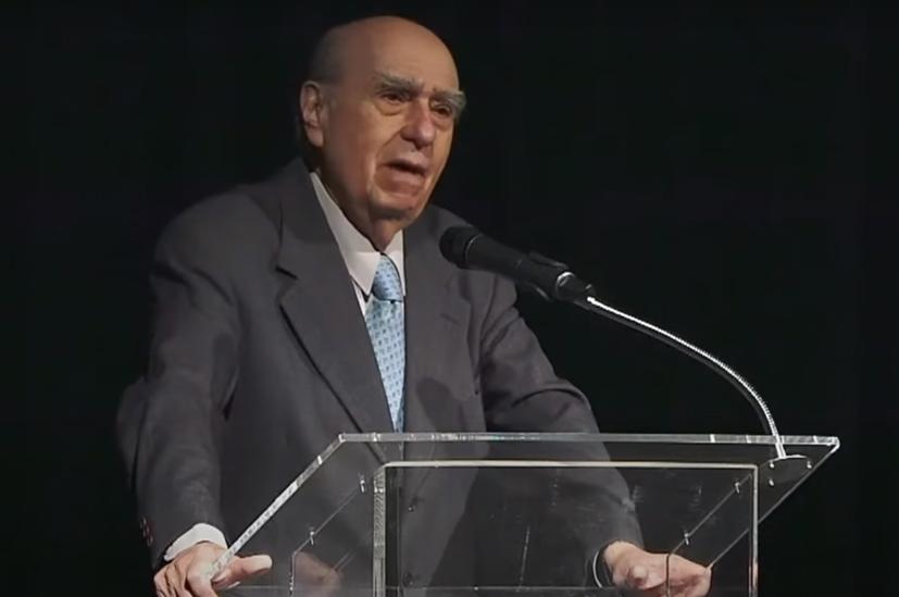 Conferencia de Julio Sanguinetti sobre Rafael Barradas